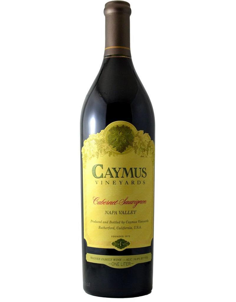 Red Wine 2017, Caymus Vineyards 1 Liter, Cabernet Sauvignon, Napa, Napa Valley, California, 14.6% Alc, CT