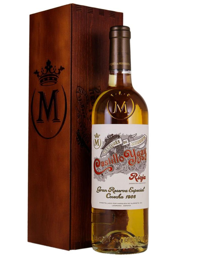 White Wine 1986, Marques de Murrieta Gran Reserva Especial White Blend Castillo Ygay, Viura/Malvasia, Finca Ygay, Rioja, Spain, 13.5% Alc, CT97 RP100 JS100