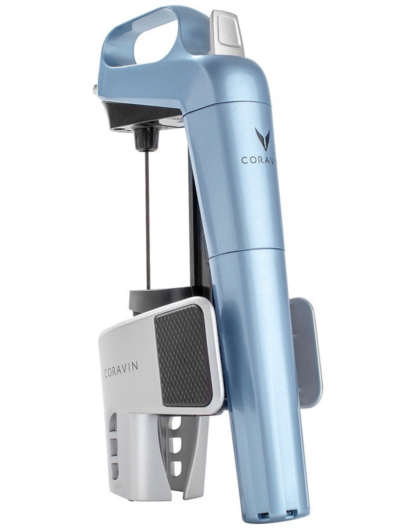 Misc. Coravin Special Edition Model - Metallic Blue - Wine Pouring System, with 2 Coravin PURE Capsules
