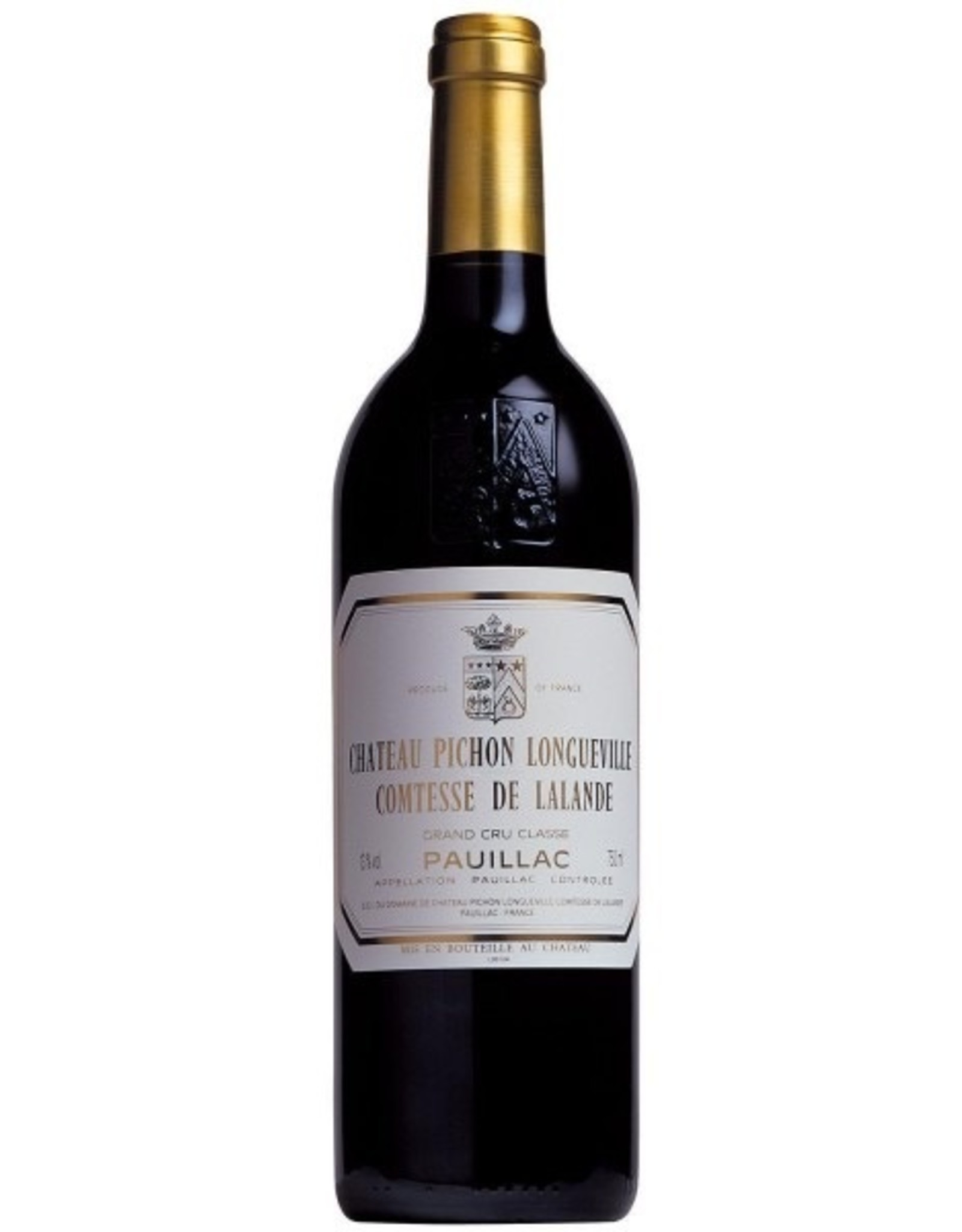 Red Wine 2015, Chateau Pichon-Longueville Grand Cru Classe, Red Bordeaux Blend, Pauillac, Bordeaux, France, 13.5% Alc, CTnr