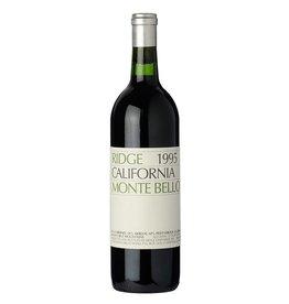 Red Wine 1995, Ridge, Monte Bello, Cabernet