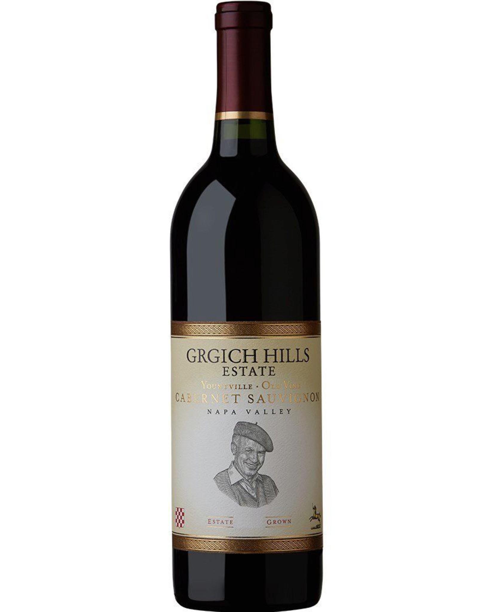 Red Wine 2013, Grgich Hills OLD VINE, Cabernet Sauvignon, Yountville, Napa Valley, California, 14.8% Alc, CT90
