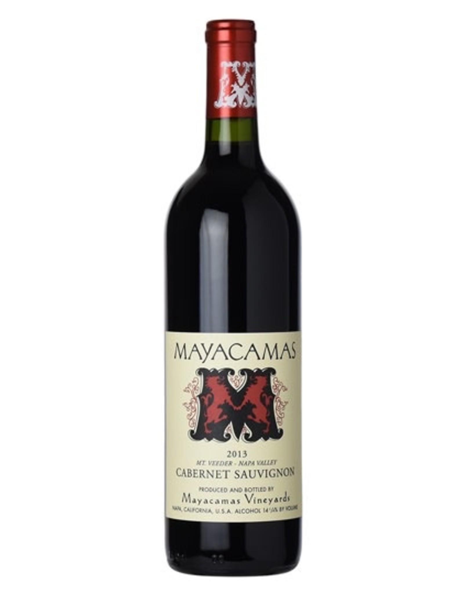 Red Wine 2013, Mayacamas, Cabernet Sauvignon, Mt. Veeder, Napa Valley, California,14.25% Alc, CT91.9, V97, JS95