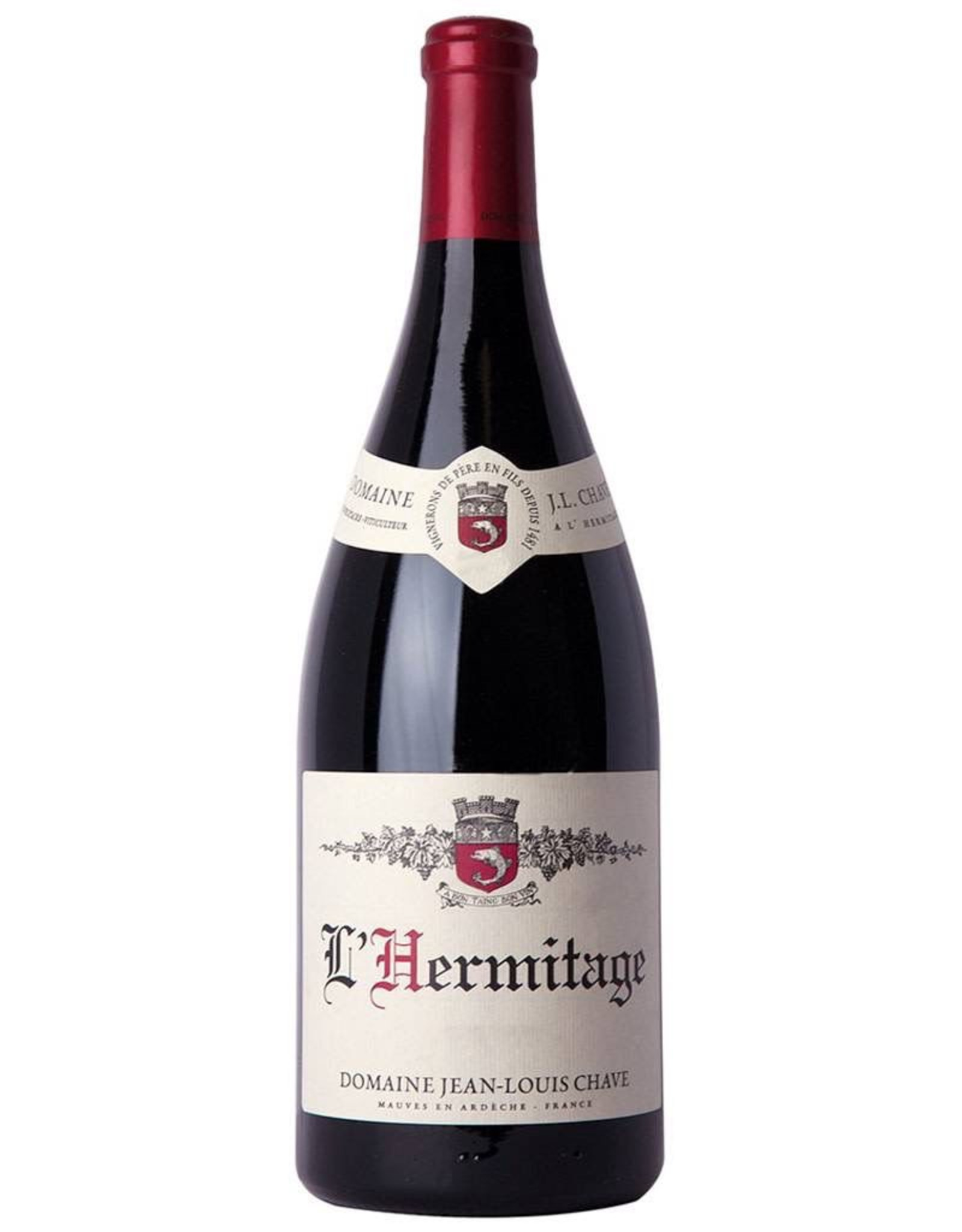 Red Wine 2015, Domaine Jean-Louis Chave L'Hermitage, Syrah/Shiraz Red Rhone Blend, Cotes du Rhone, Southern Rhone, France, 14.5% Alc, CT94.5 JD100 RP100