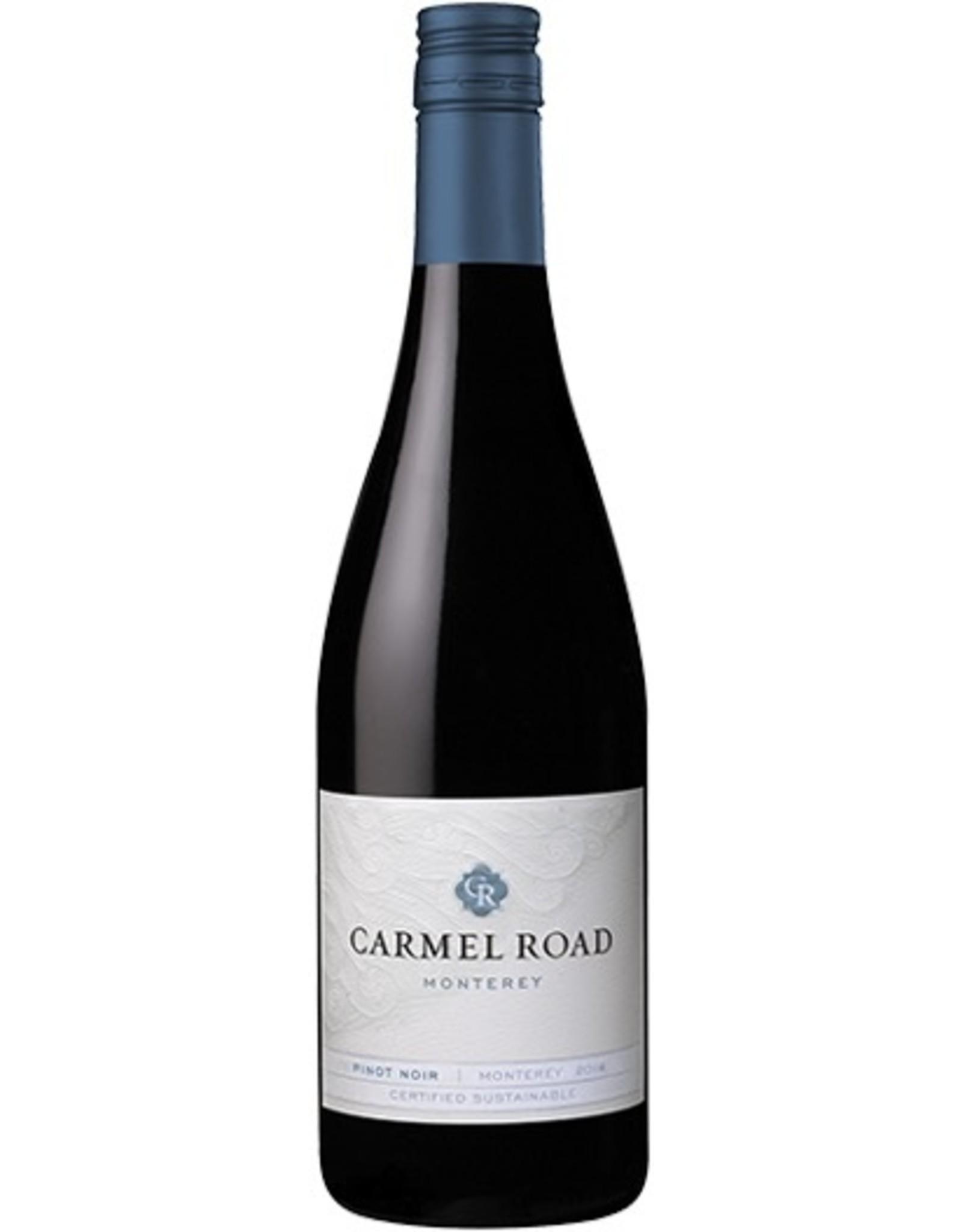 Red Wine 2015, Carmel Road, Pinot Noir, Monterey County, Central Coast, California, 4.5% Alc, CT90