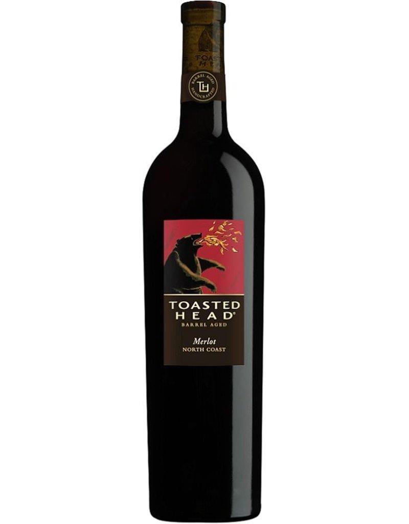 Red Wine 2015, Toasted Head Barrel Aged, Merlot, Mulit-AVA, Napa, California, 13.2% Alc, CT