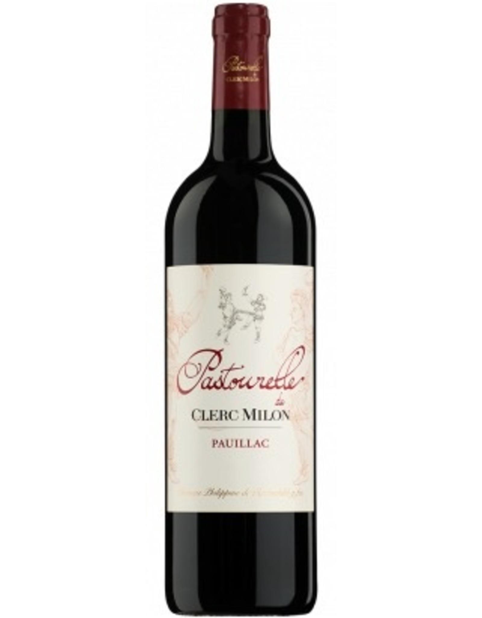 Red Wine 2010, Pastourelle de Clerc Milon by Phillipe de Rothchild Grand Cru Classe, Red Bordeaux Blend, Pauillac, Bordeaux, France, 14% Alc, CTnr