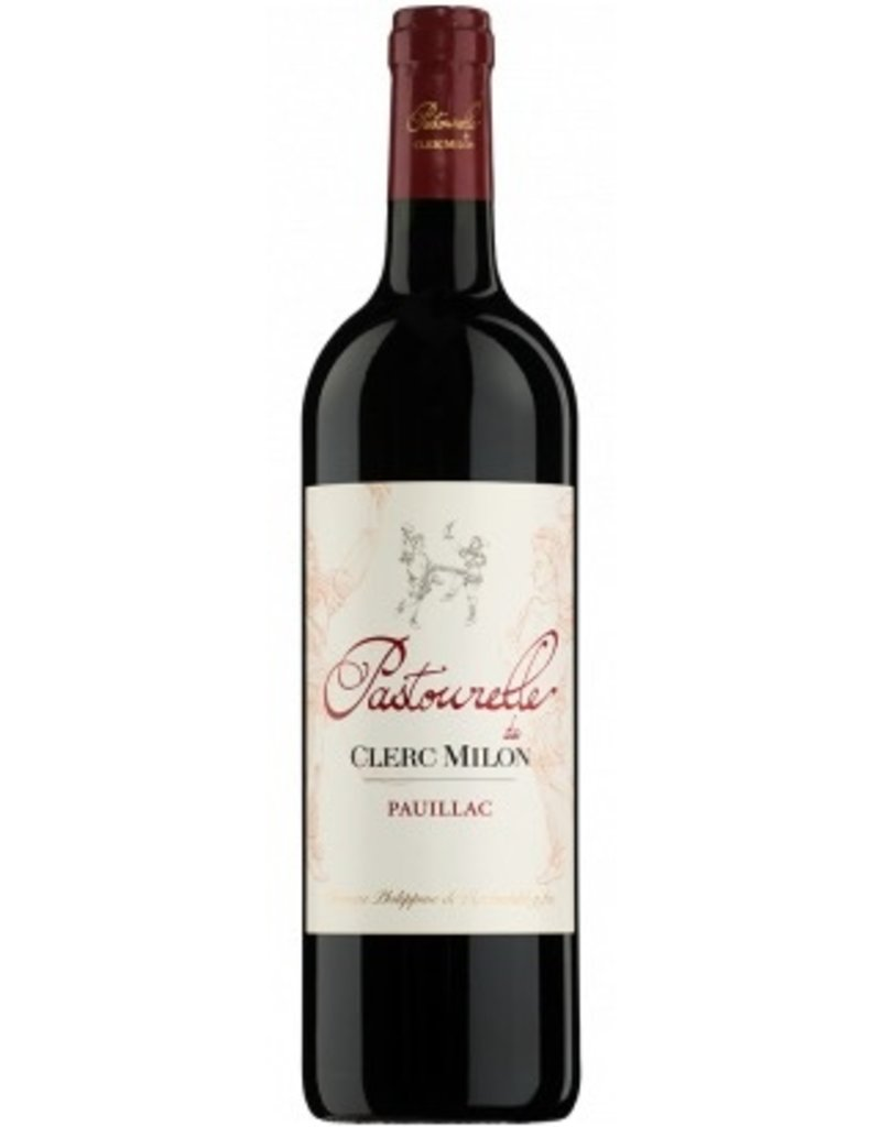 Red Wine 2010, Pastourelle de Clerc Milon by Phillipe de Rothchild Grand Cru Classe, Red Bordeaux Blend, Pauillac, Bordeaux, France, 14% Alc, CTnr