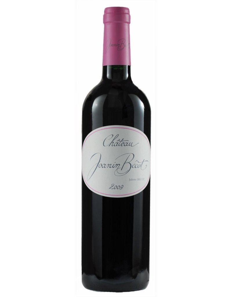 Red Wine 2009, Chateau Joanin Becot, Red Bordeaux Blend, Gionde, Cotes De Bordeaux, France, 14.5% Alc, CT90.4