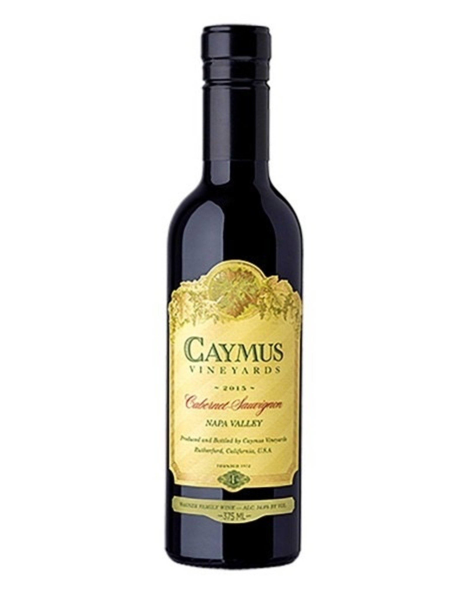Red Wine 2016, Caymus Vineyards 375ml, Cabernet Sauvignon, Napa, Napa Valley, California, 14.6% Alc, CT90