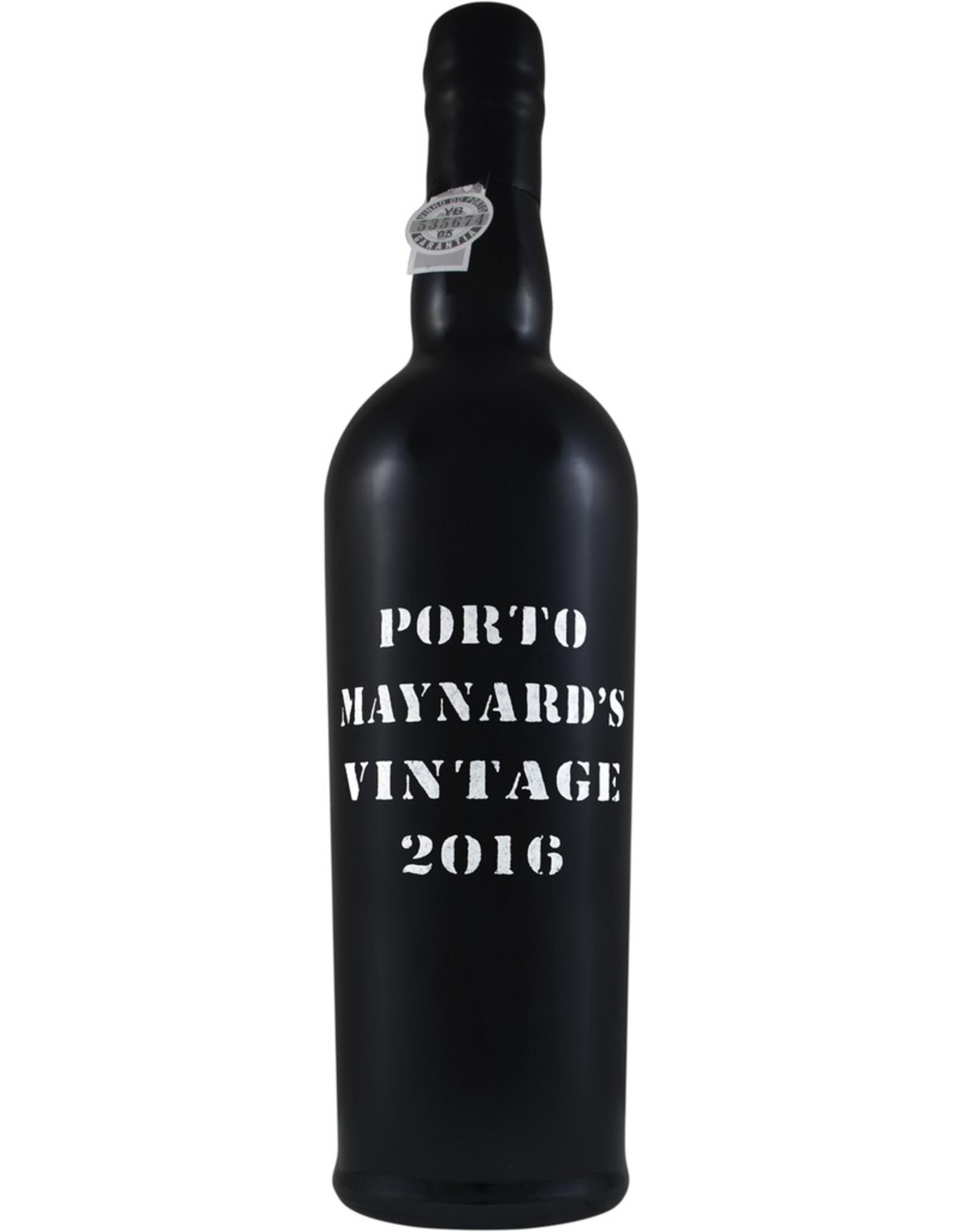 Port 2016, Maynard's Vintage Porto Port, Port, Douro Valley, Oporto, Portugal, 20% Alc, CTnr WE99