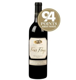 Red Wine 2014, De Lille Four Flags, Cabernet Sauvignon
