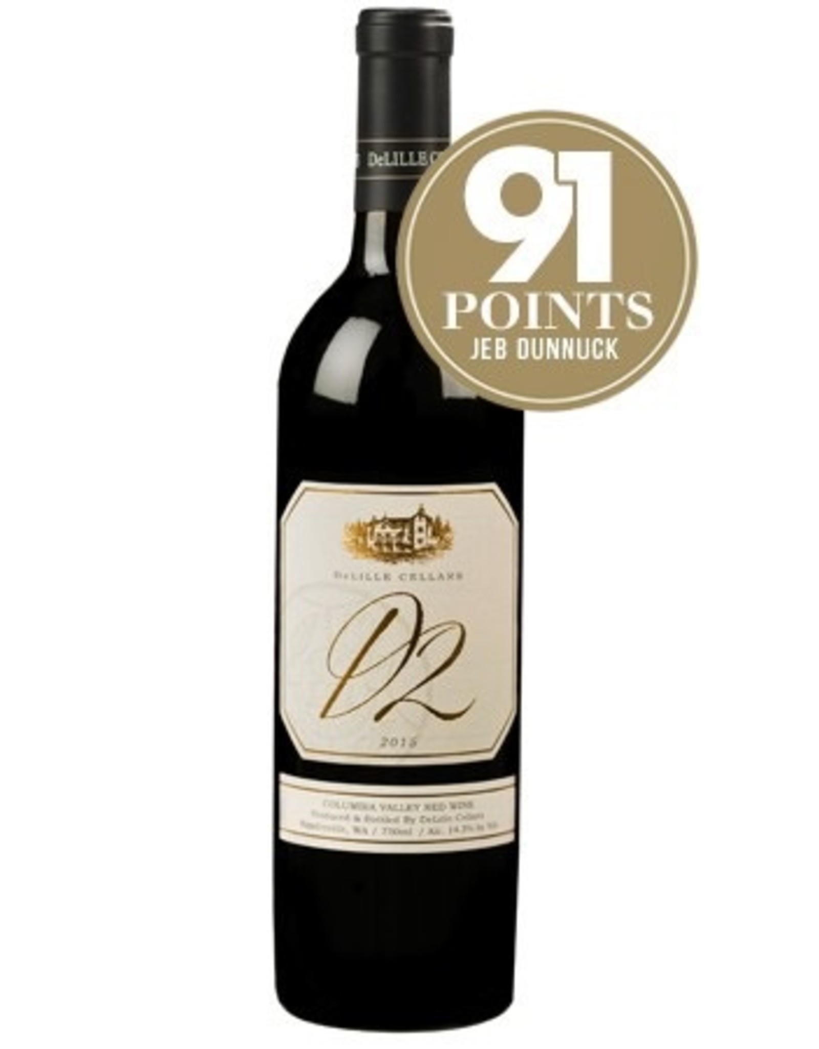 Red Wine 2015, De Lille Cellars D2, Red Bordeaux Blend, Red Mountain Yakima Valley, Columbia Valley, Washington, 14.4% Alc, CTnr JD91 RP90 JS90