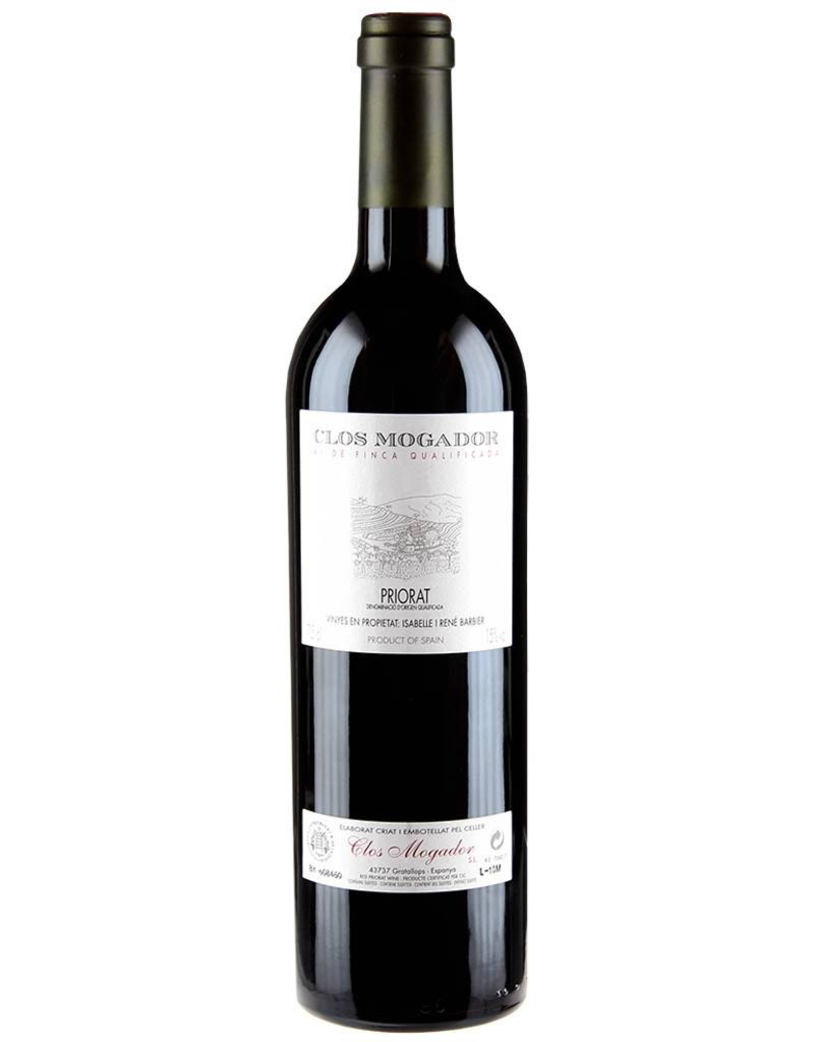 Red Wine 2016, Clos Mogador, Grenache Blend, Priorat,  Catalunya, Spain, 15.0% Alc, CTnr RP98