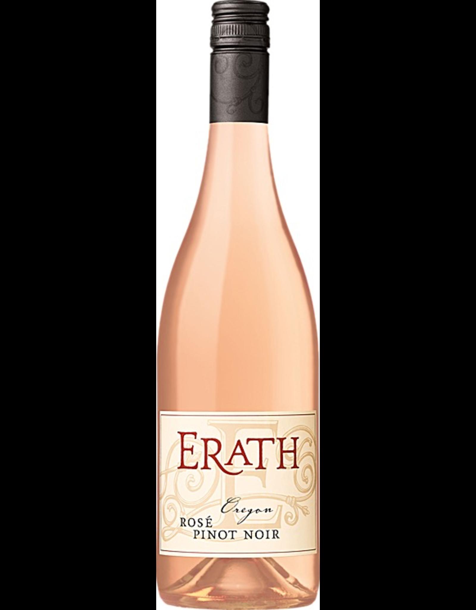 Rose Wine 2018, Erath Rose, Pinot Noir, Multi-regional Blend, Willamette Valley, Oregon, 13.0% Alc, CT89.7