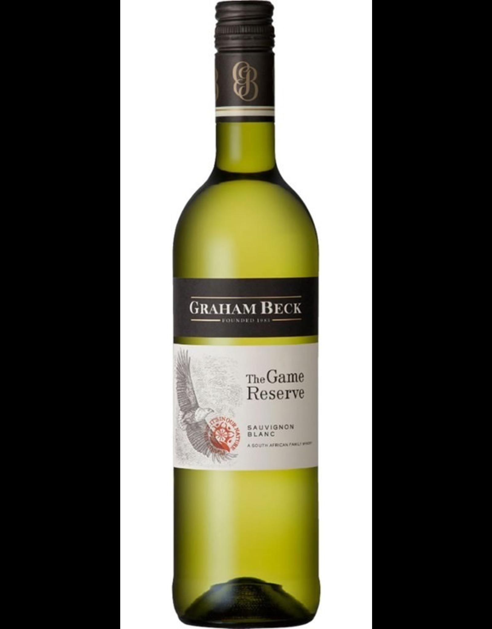 White Wine 2014, Graham Beck Game Reserve, Sauvignon Blanc, Robertson, Coastal Region, South Africa, 13.5% Alc, CT85