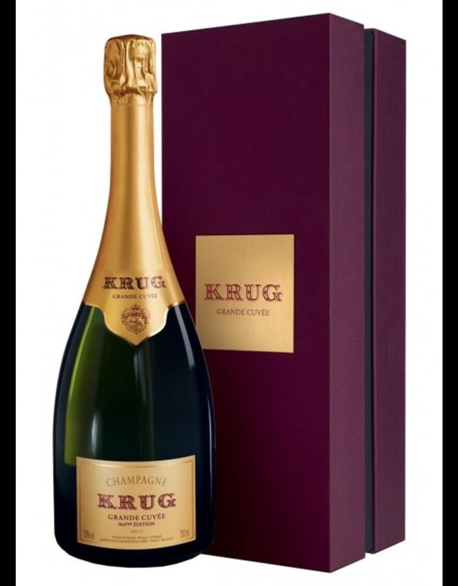 Sparkling Wine NV, Krug 167th Edition Grand Cuvee GIFT BOX, Champagne, Reims, Champagne, France, 12% Alc, CTnr RP96