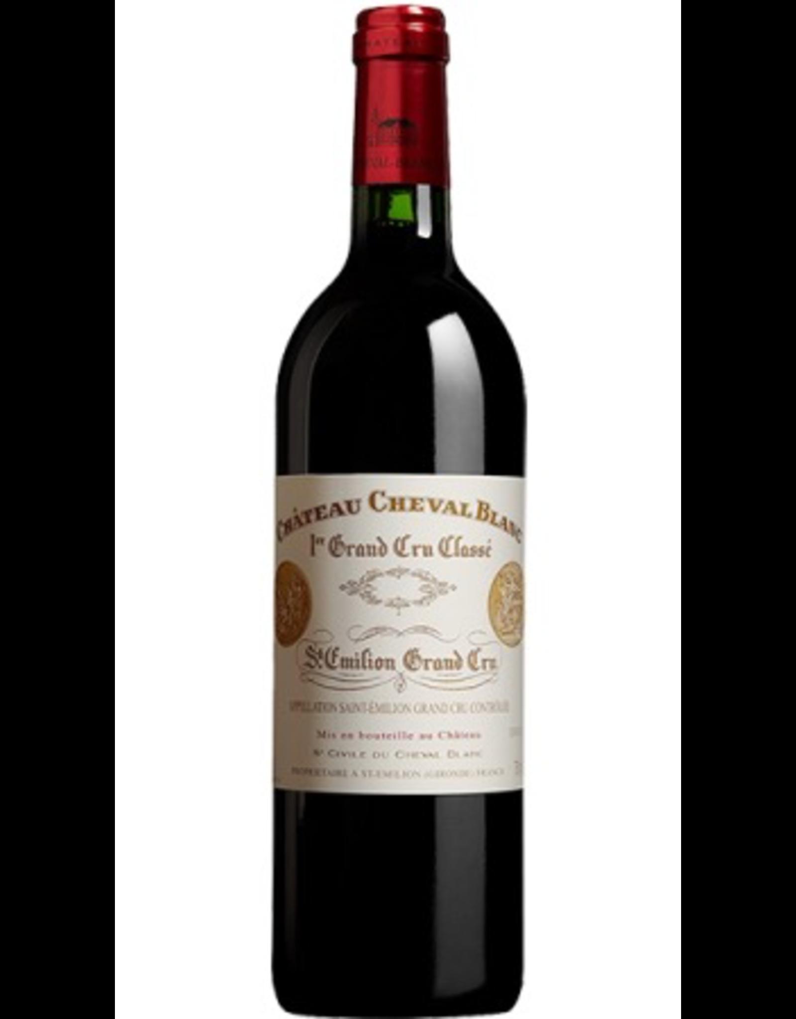 """Red Wine 2016, Chateau Cheval Blanc 1er Grand Cru Classe """"A"""", Red Bordeaux Blend, St. Emilion, Bordeaux, France, 15% Alc, CT97, RP100 JS99"""