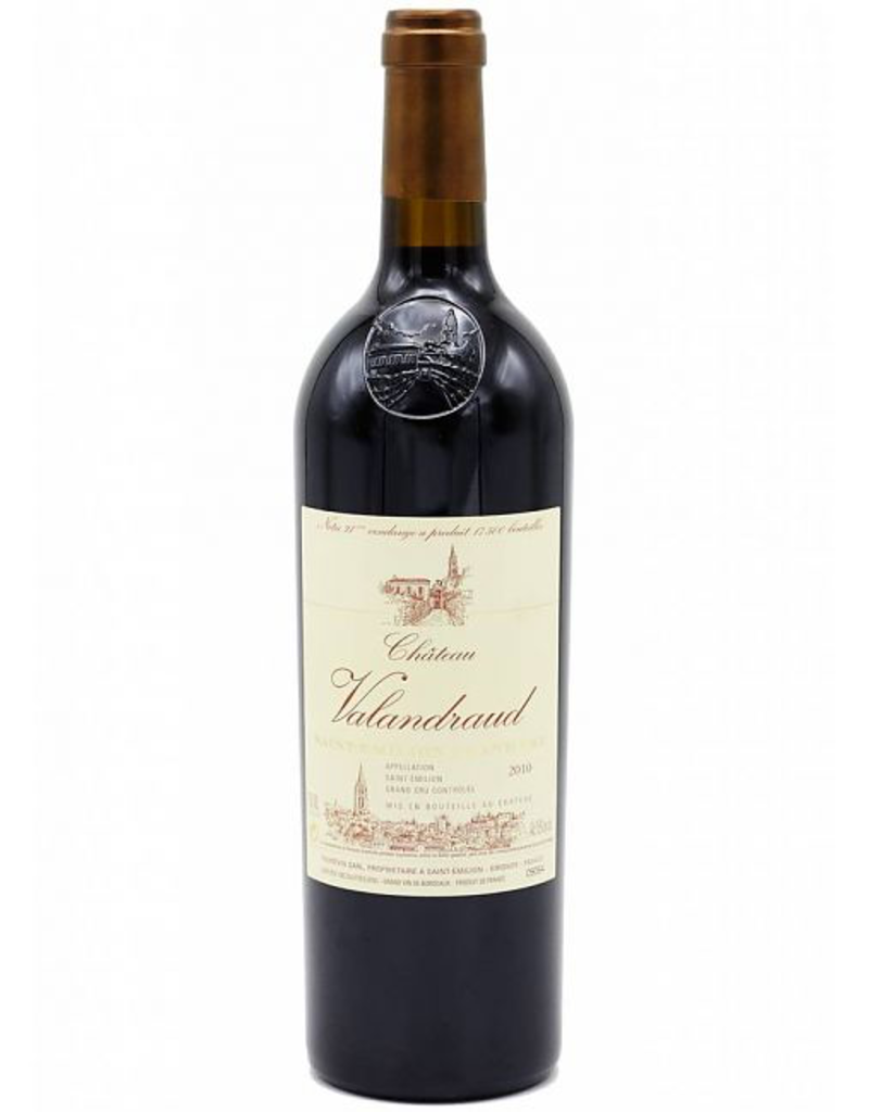 Red Wine 2010, Chateau Valandraud 1st Growth Grand Cru, Red Bordeaux Blend, St. Emilion, Bordeaux, France, 15% Alc, CT97, RP96