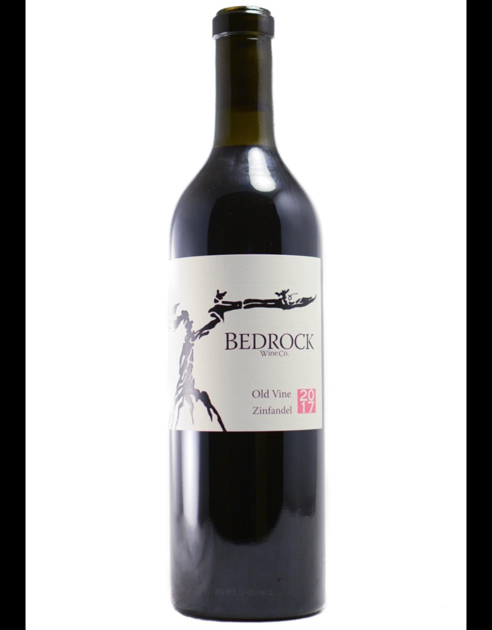 Red Wine 2017, Bedrock Wine Co. Old Vine Zinfandel, Zinfandel, Sonoma County, Northern Coast, California,14.4% Alc, CTnr, WS93, RP91