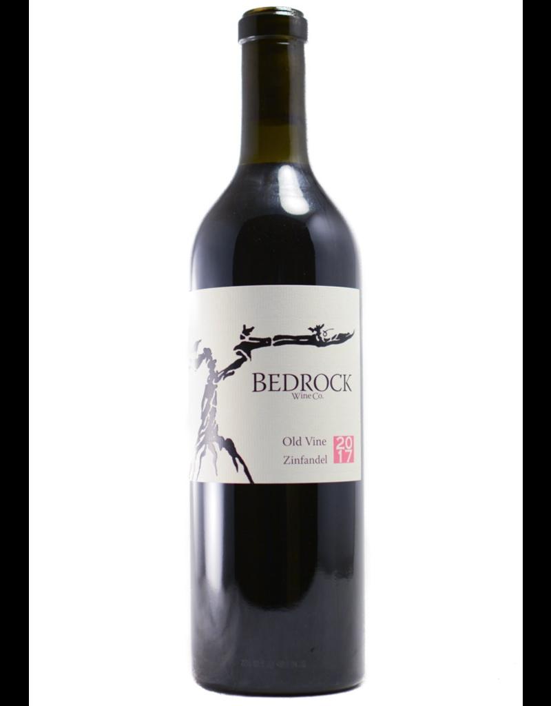 Red Wine 2017, Bedrock Wine Co. Old Vine Zinfandel, Zinfandel, Sonoma County, Northern Coast, California,14.4% Alc, CTnr WS93