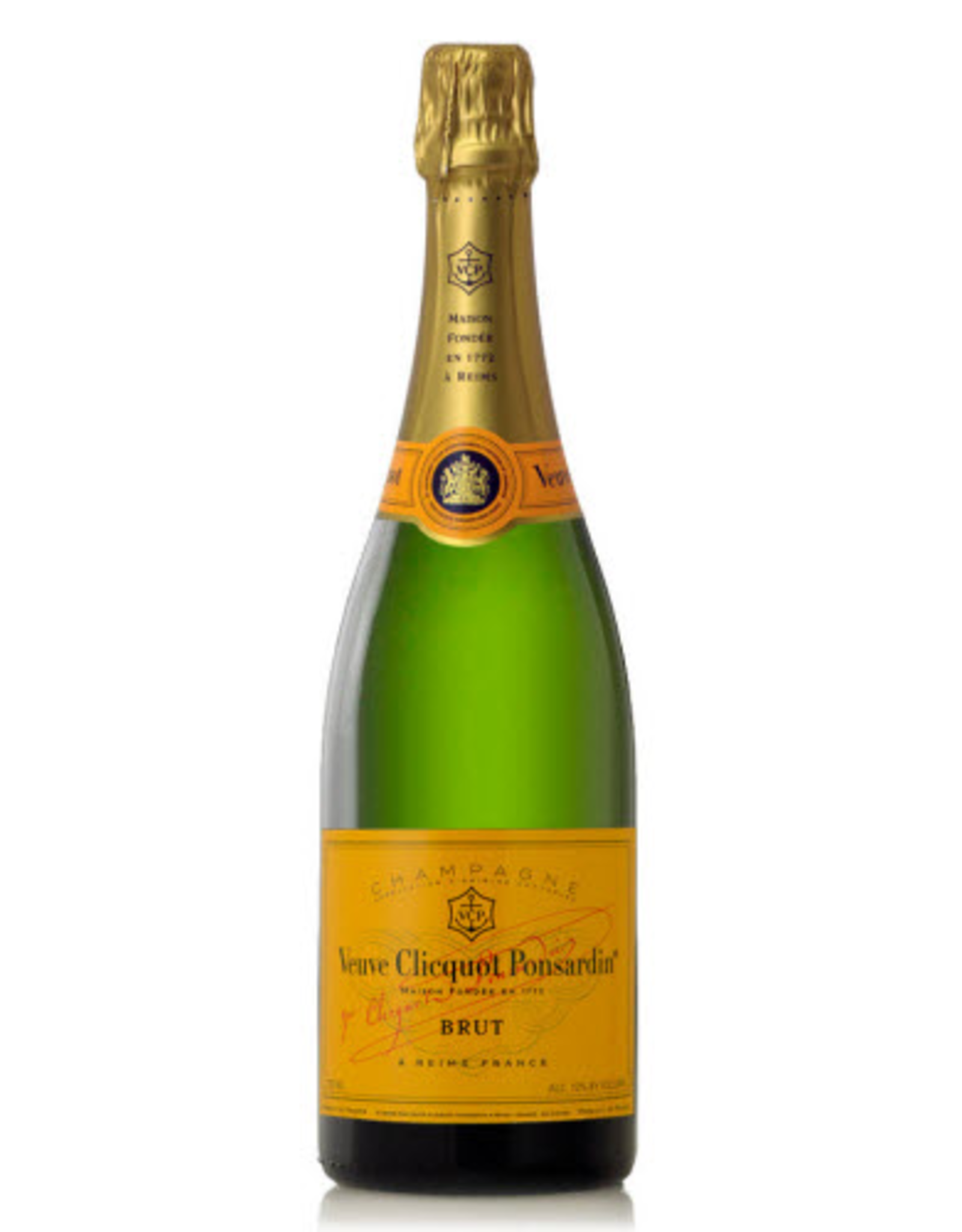 Sparkling Wine NV, Veuve Clicquot Ponsardin Reserve Cuvee Brut Yellow Label, Champagne, Reims, Champagne, France, 14% Alc, TW90