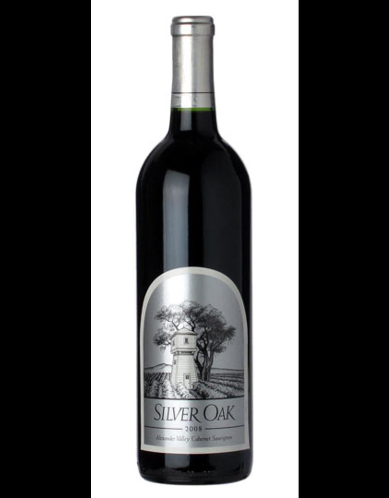 Red Wine 2008 Silver Oak, Cabernet Sauvignon, Alexander Valley, Sonoma County, California, 13.9% Alc, CT90, WE91