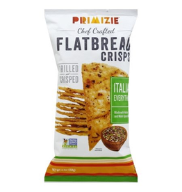 Specialty Foods Primize, Flatbread Crisps, Italian Everything