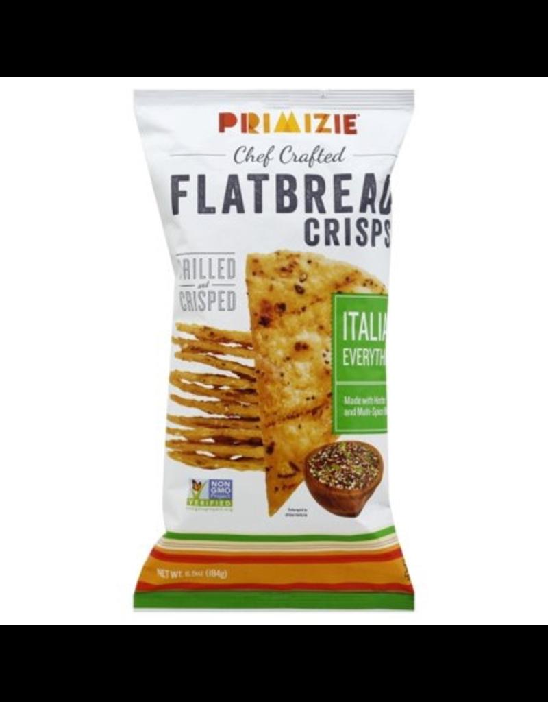 Specialty Foods Primize, Flatbread Crisps, Italian Everything, 6.5oz.