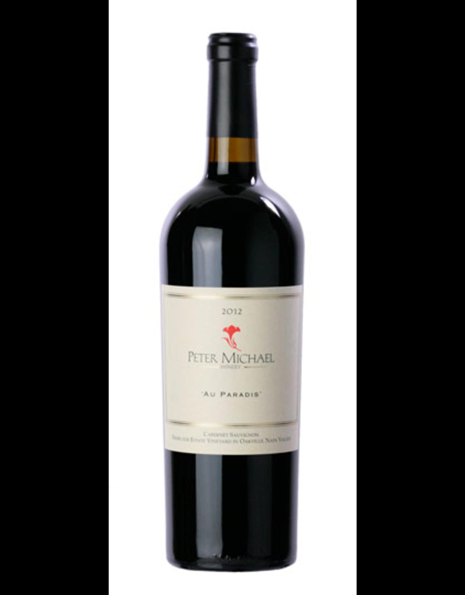 Red Wine 2012, Peter Michael Au Paradis, Cabernet Sauvignon, Oakville, Napa Valley, California, 15.8% Alc, CT93, JS98, WS #1 Top 100