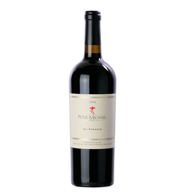 Red Wine 2012, Peter Michael, Au Paradis, Cabernet