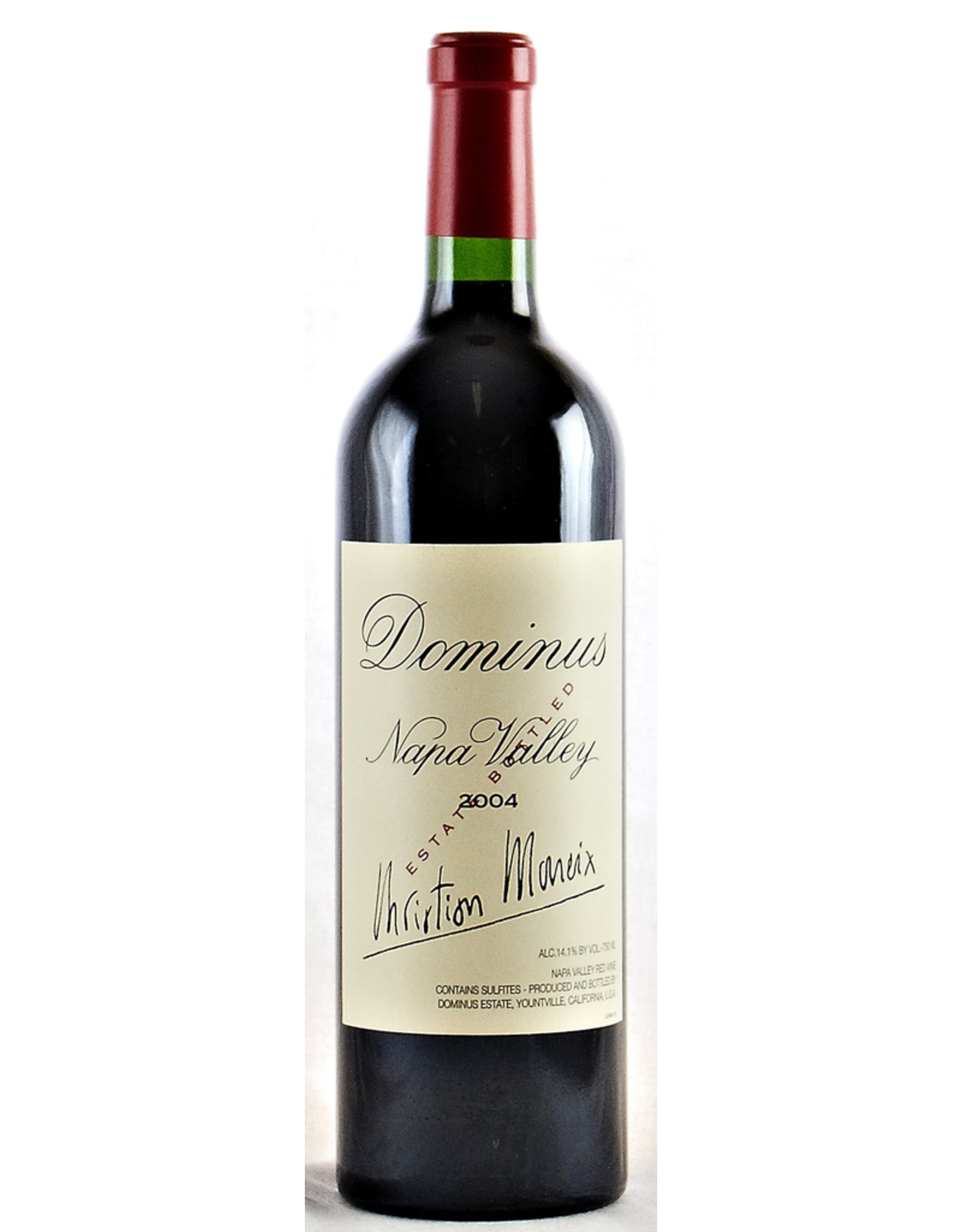 Red Wine 2004, Dominus Estate Christian Moueix, Yountville, Napa Valley, California, 14.1% Alc, CT92, RP97