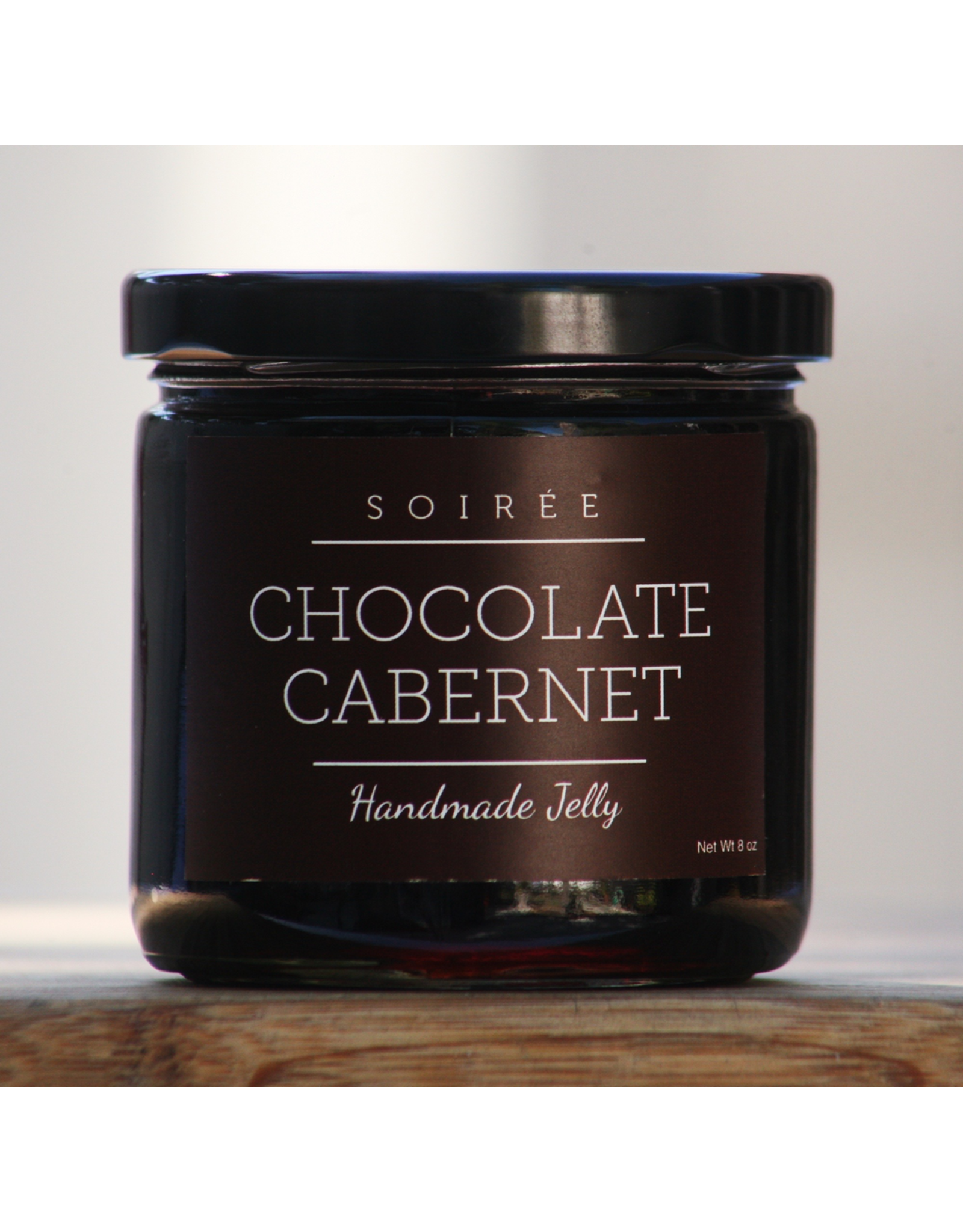 Specialty Foods Soiree, Chocolate Cabernet, Handmade Jelly, USA, 8oz.