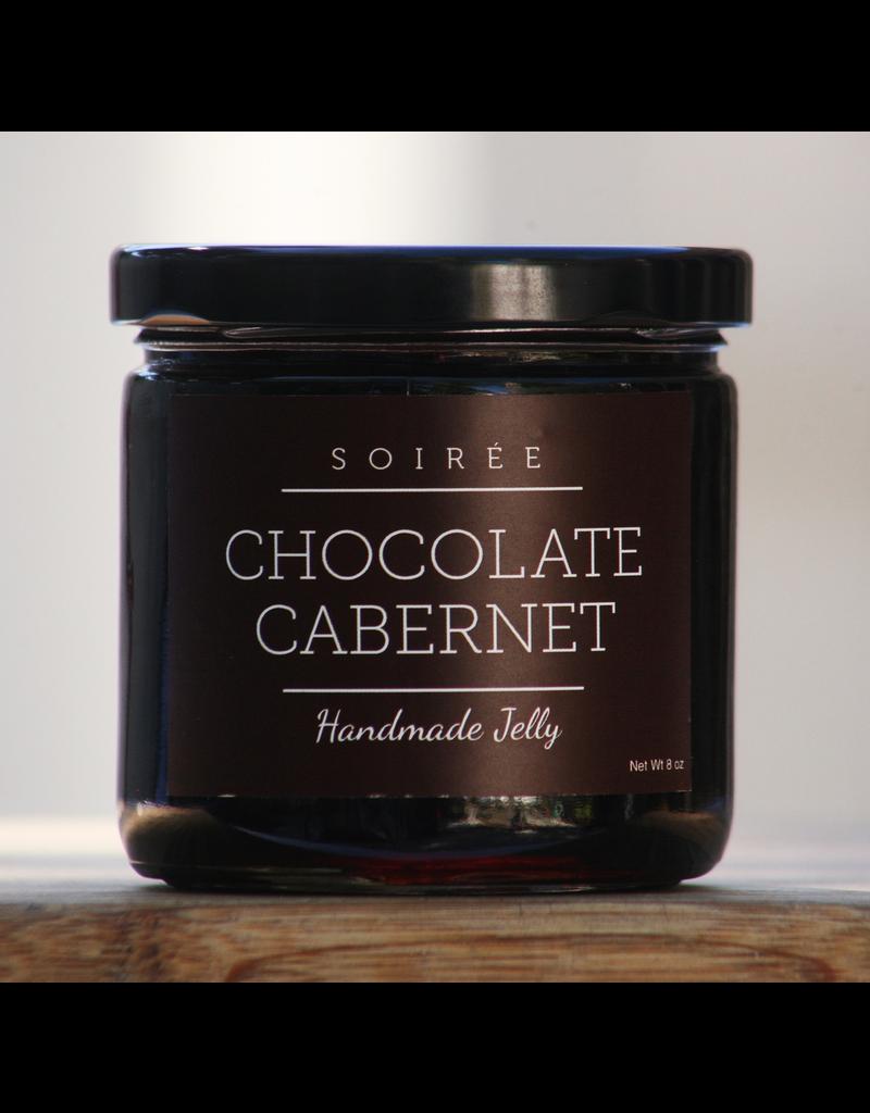 Specialty Foods Soiree, Chocolate Cabernet, Handmade Jelly, USA, 8oz.