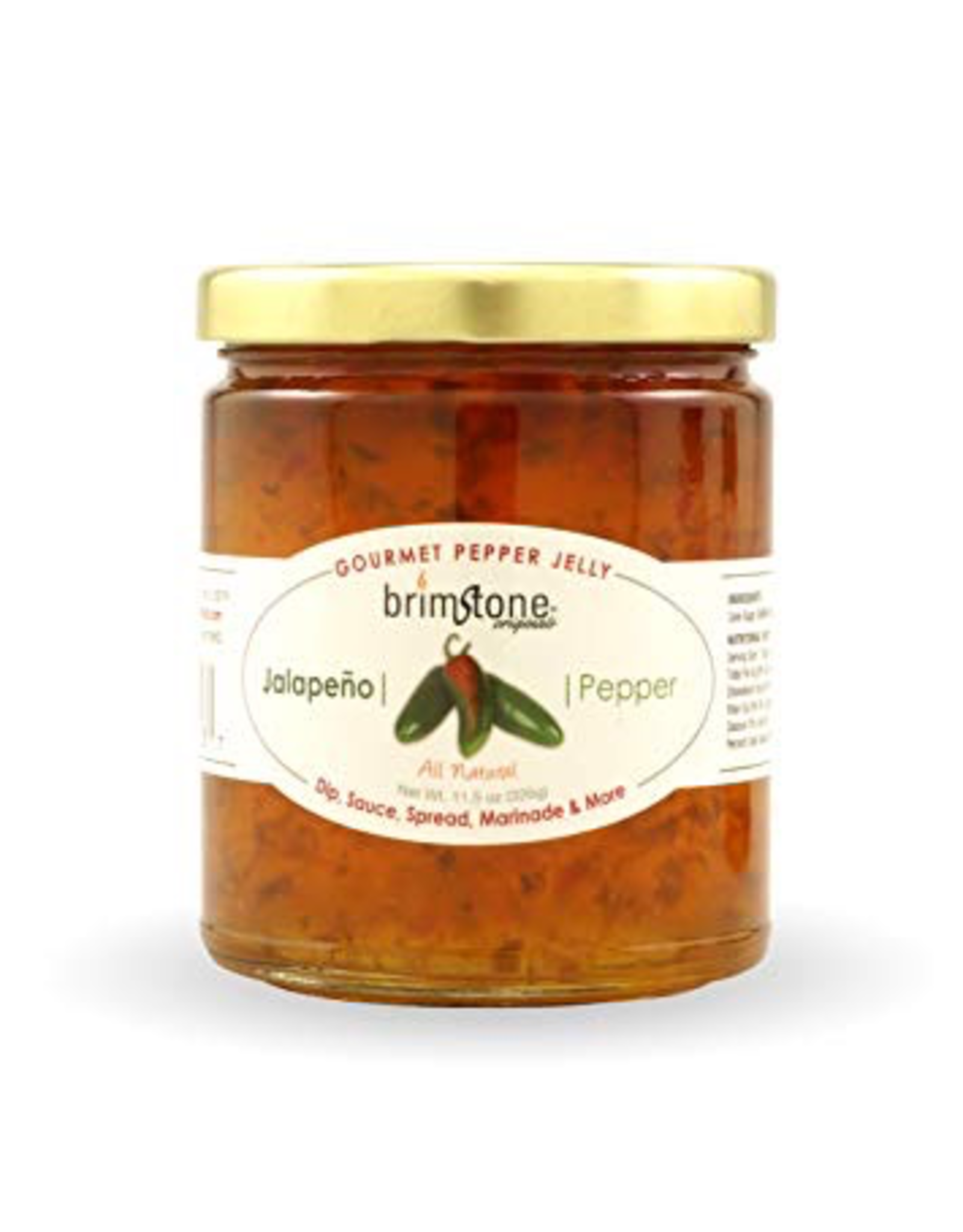 Specialty Foods Brimstone Pepper Jelly, Jalepeno Pepper, USA, 11.5oz.