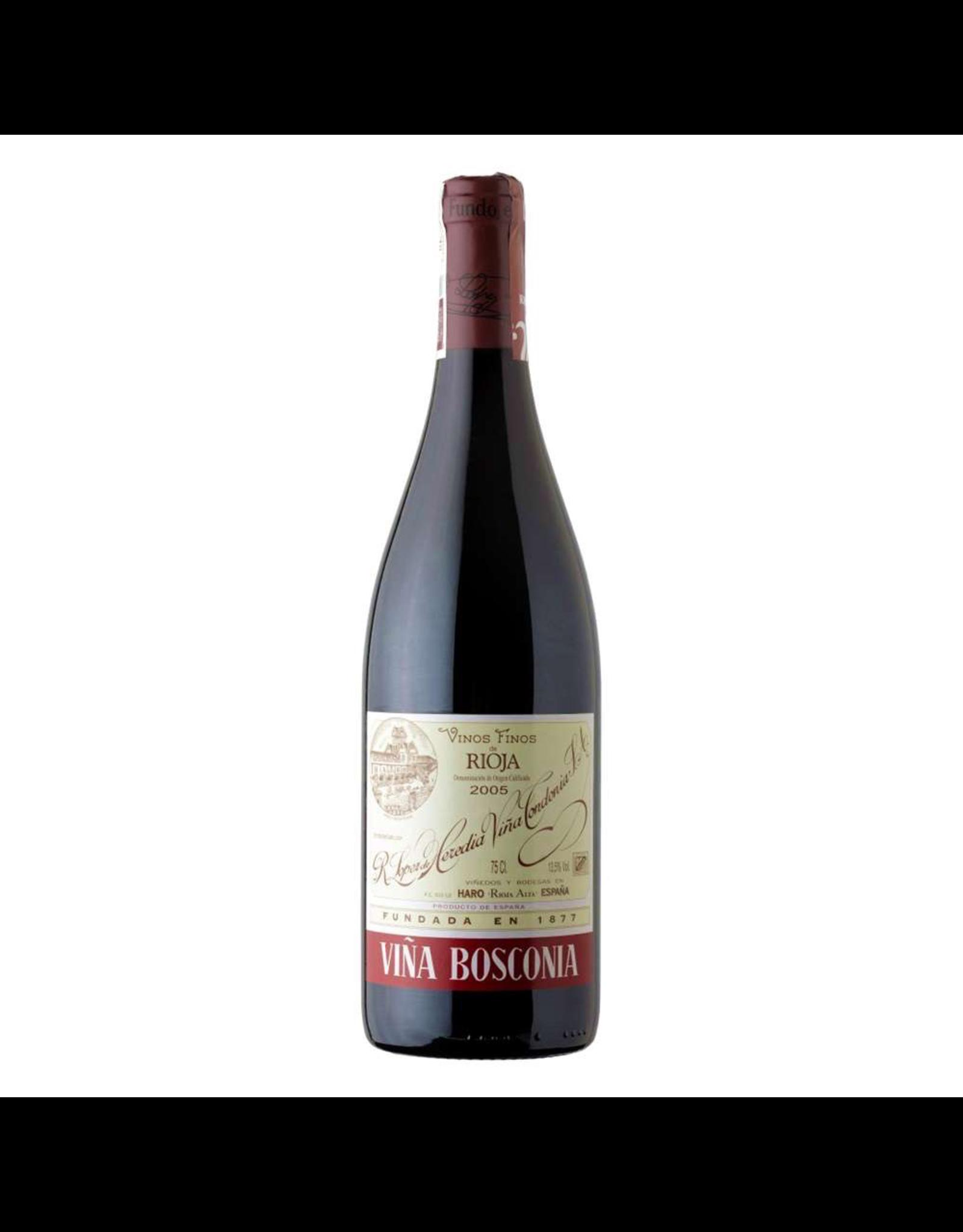 Red Wine 2006, Lopez Hereida Vina Bosconia, Red Tempranillo Blend, Haro, Ribeiro Del Duero, Spain, 13.5% Alc, CT
