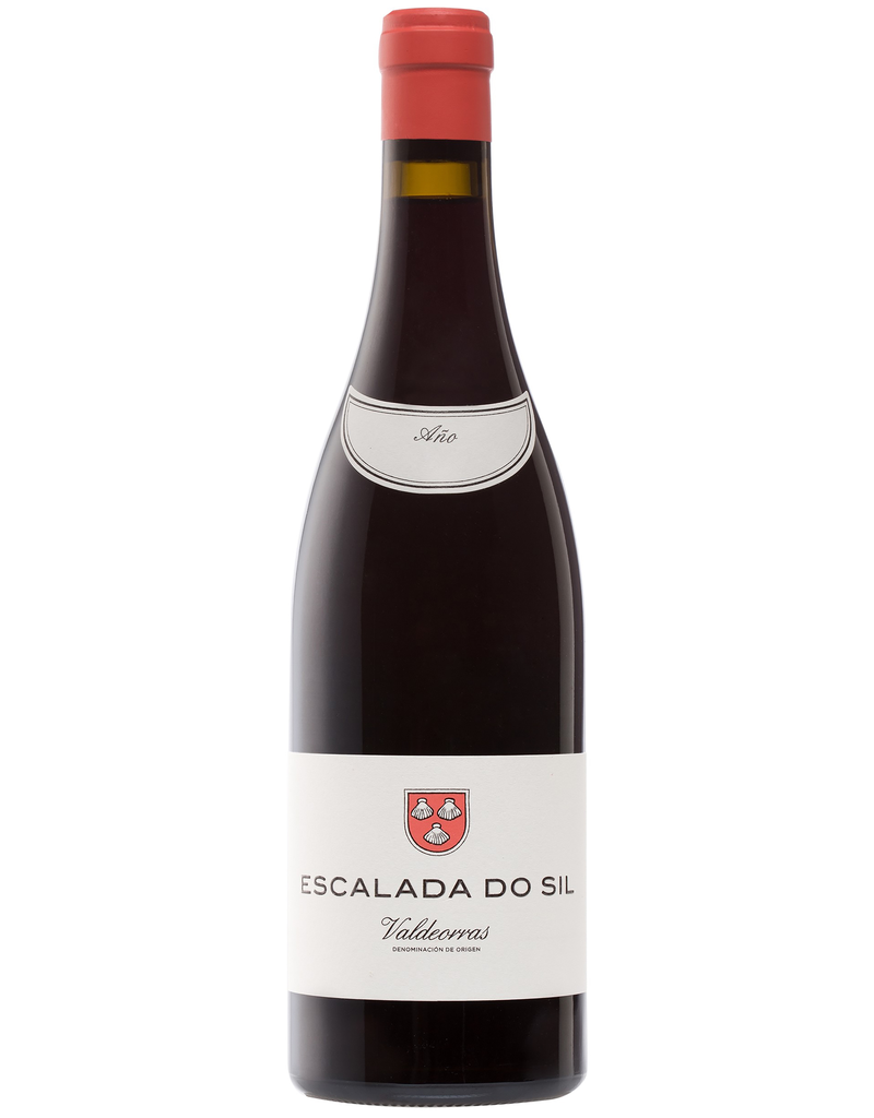 Red Wine 2016, Escalada Do Sil by Alberto Orte, Merenzao Mencia Garnacha Rare Red Blend, Valdeorras, Galicia, Spain, 13.5% Alc, CT