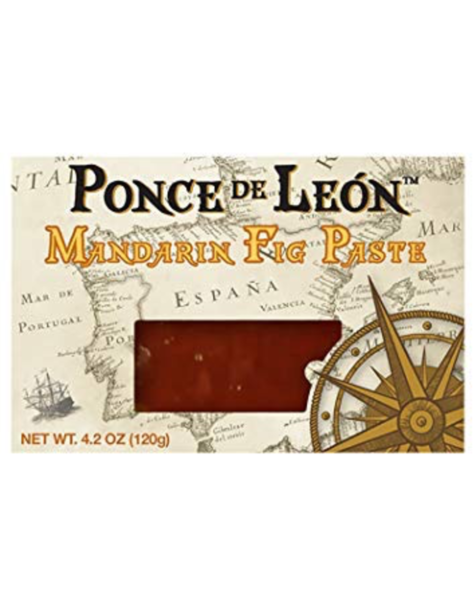 Specialty Foods Ponce De Leon, Mandarin Fig Paste, 4.2oz.