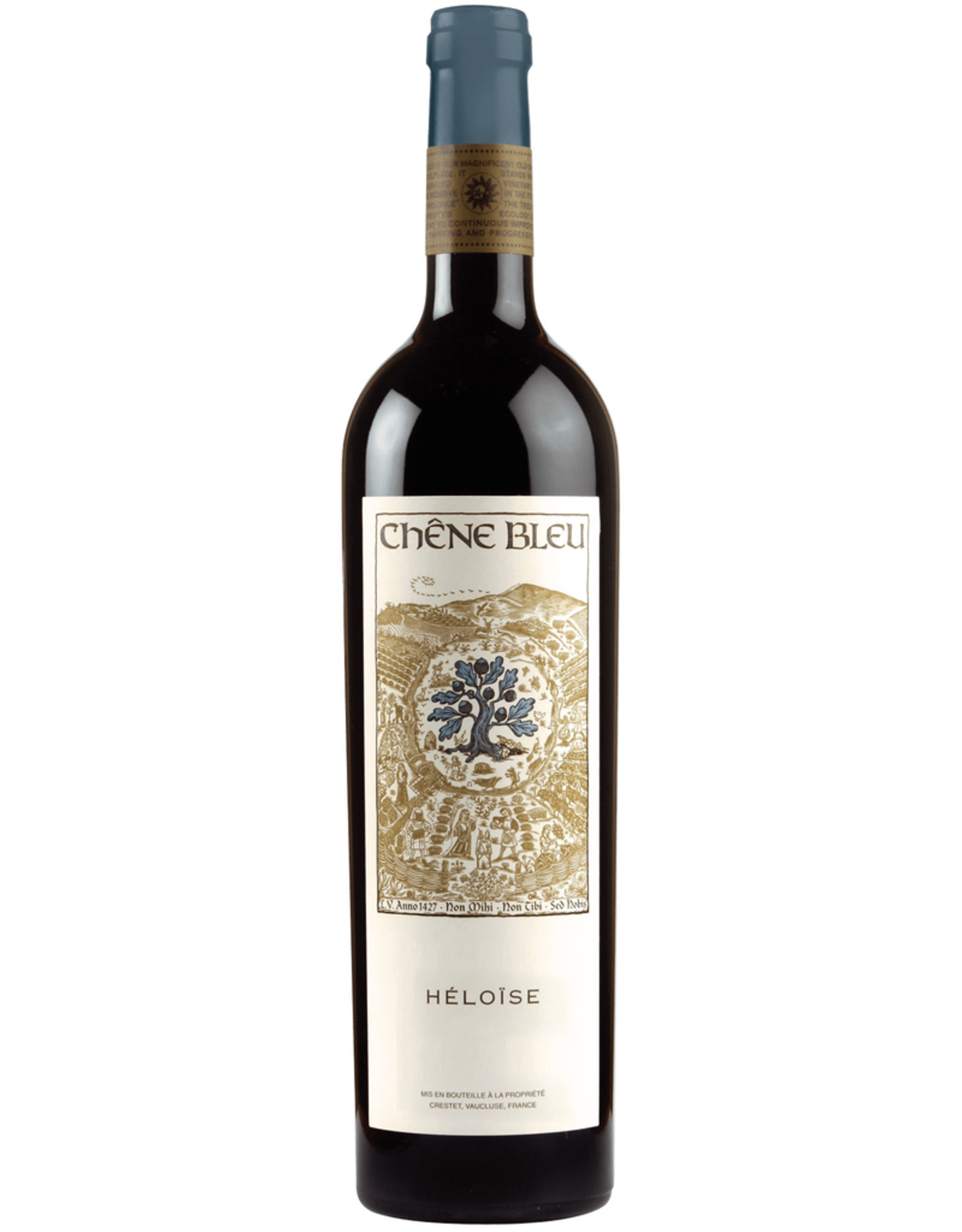 Rose Wine 2009, Chene Bleu Heloise, Red Blend, Vaucluse, Vin De Pays, France, 14.5% Alc, CT