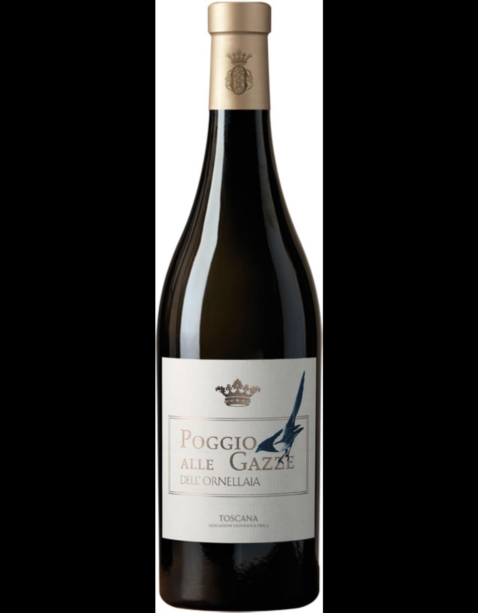 White Wine 2017, Poggio Alle Gazze Dell Ornellaia, White Regional Blend, Toscana IGT, Tuscany, Italy, 13.5% Alc, CTnr, RP92