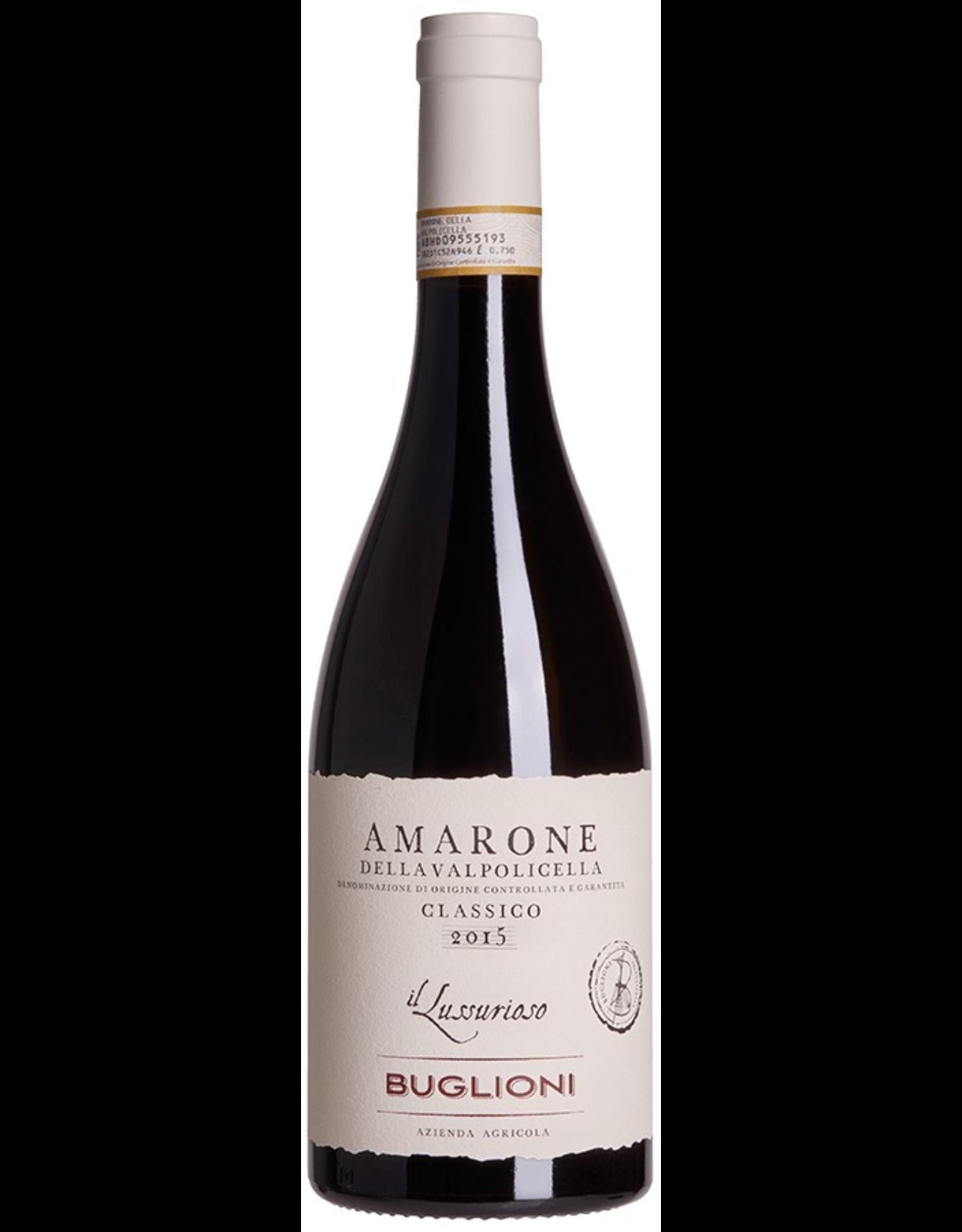 Red Wine 2016, Buglioni Amarone della Valpolicella Classico DOCG, Valpolicella, Veneto, Italy, 14.3% Alc, CTnr