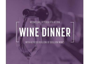 Rococo Buglioni Wine Dinner