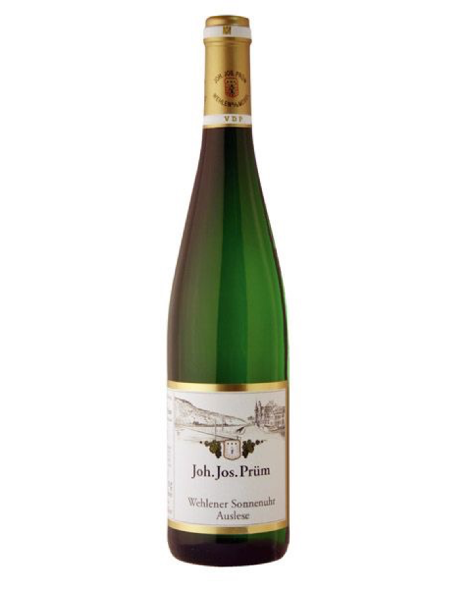 White Wine 1999, Joh. Jos. Prum Wehlener Sonnenuhr GOLD CAP 750ml Auslese, Riesling, Graacher Himmelreich, Mosel, Germany, 7.5% Alc, CT93.7
