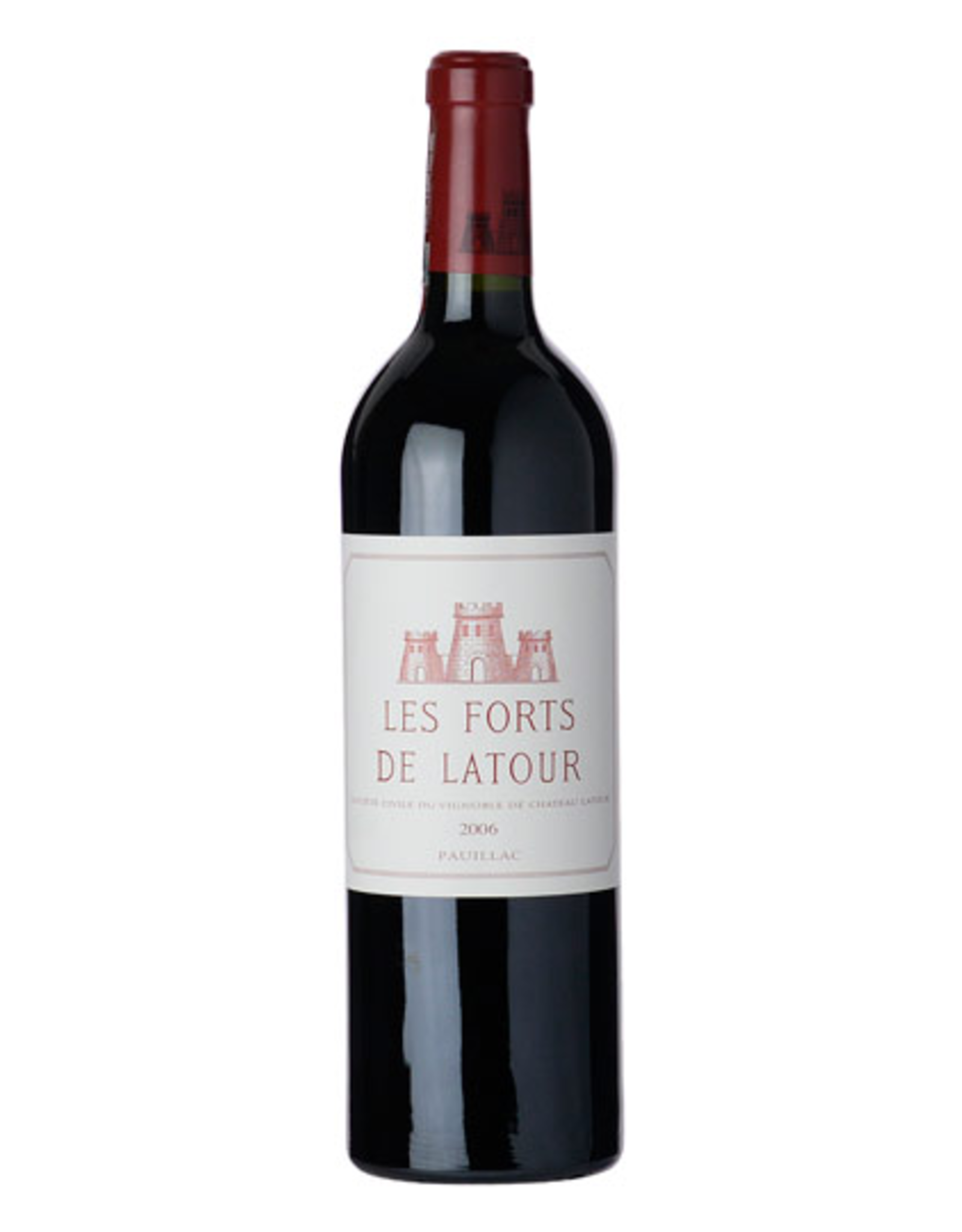 Red Wine 2006, Les Forts de Latour 1st Growth 2nd Grand Cru, Red Bordeaux Blend, Pauillac, Bordeaux, France, 14% Alc, CT91, RP92