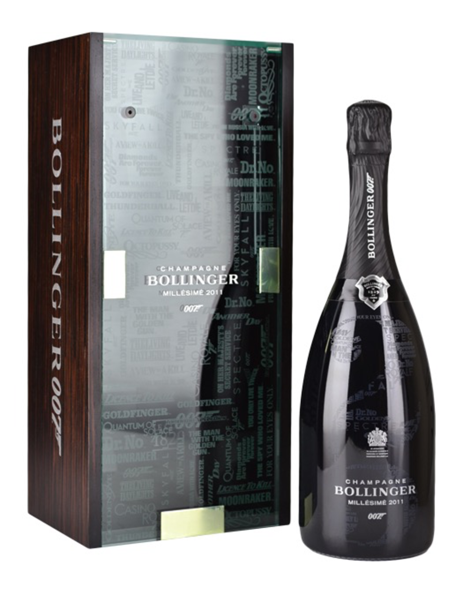 Sparkling Wine 2011, Bollinger 25th James Bond Limited Edition Millesime, Brut, 100% Pinot Noir Champagne, Ay, Champagne, France, 12% Alc, CTnr