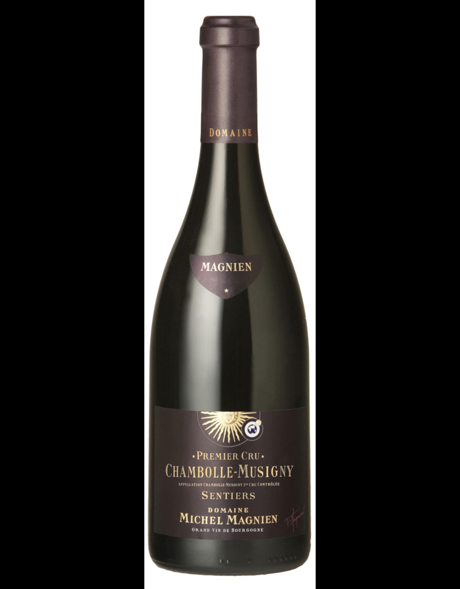 Red Wine 2016, Michael Magnien Chambolle-Musigny Sentiers Premier Cru, Pinot Noir, Cote de Beaune, Burgundy, France, 13% Alc, CT
