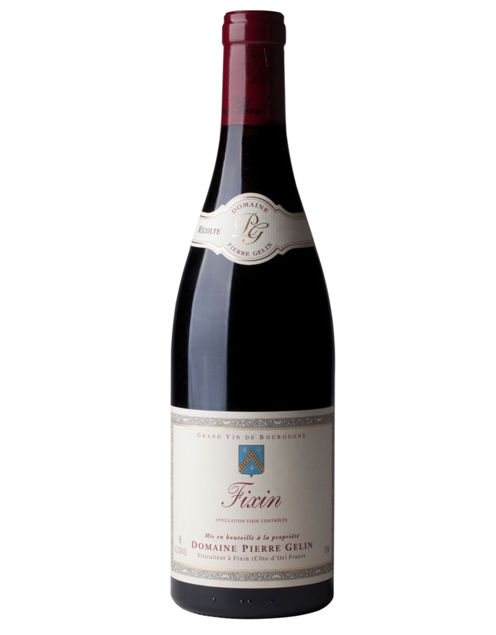 Red Wine 2016, Domaine Pierre Gelin Fixin, Pinot Noir, Cote-d'Or, Burgundy, France, 13.5% Alc, NR