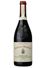 Red Wine 2017, Chateau Beaucastel Chateauneuf-du-Pape, Red Rhone Blend, Chateauneuf-du-Pape, Southern Rhone, France, 14% Alc, CT