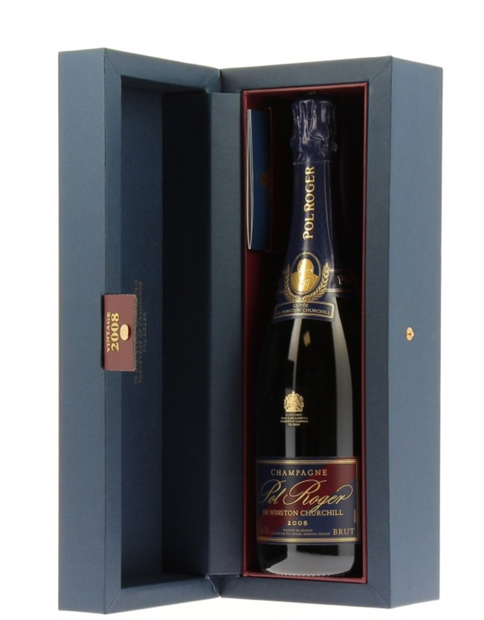 Sparkling Wine 2008, Pol Roger Cuvee Sir Winston Churchill Brut, Champagne, Epernay, Champagne, France, 12.5% Alc, CT93.9 WE100 RP96