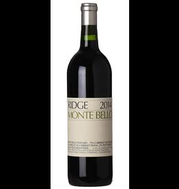 Red Wine 2014 Ridge, Monte Bello, Cabernet